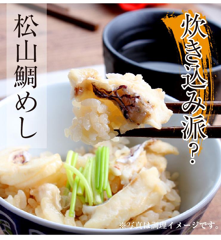愛媛県産鯛